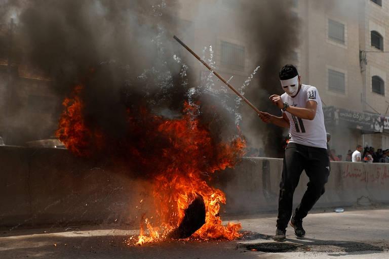 Protestos na Palestina