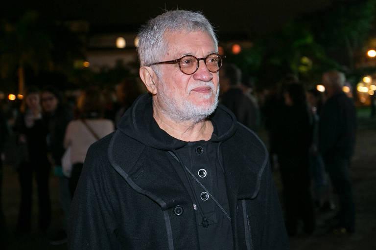 O cineasta e diretor de fotografia Walter Carvalho durante a Flip, em 2016