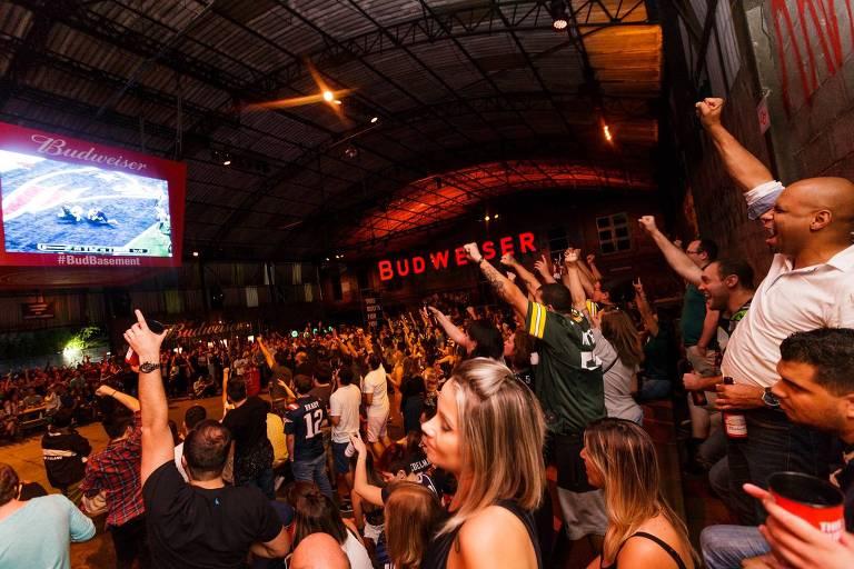 A Budweiser Basement, que acontece em galpões abandonados de São Paulo, terá edição especial para a Copa