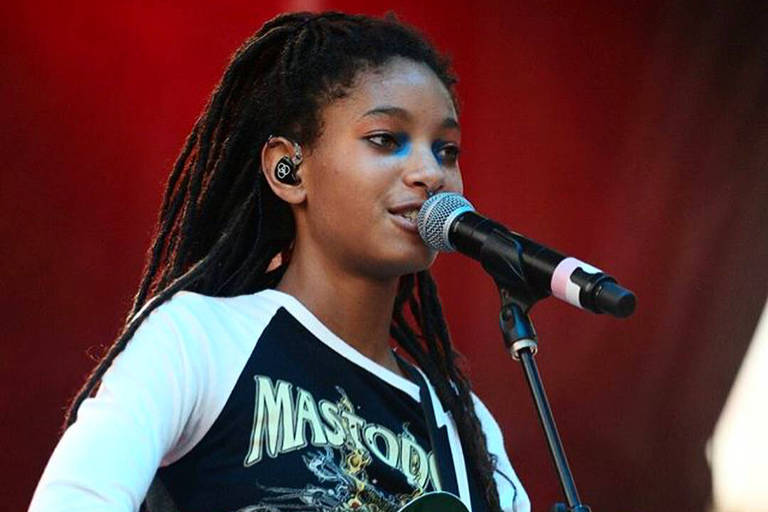 A cantora Willow Smith