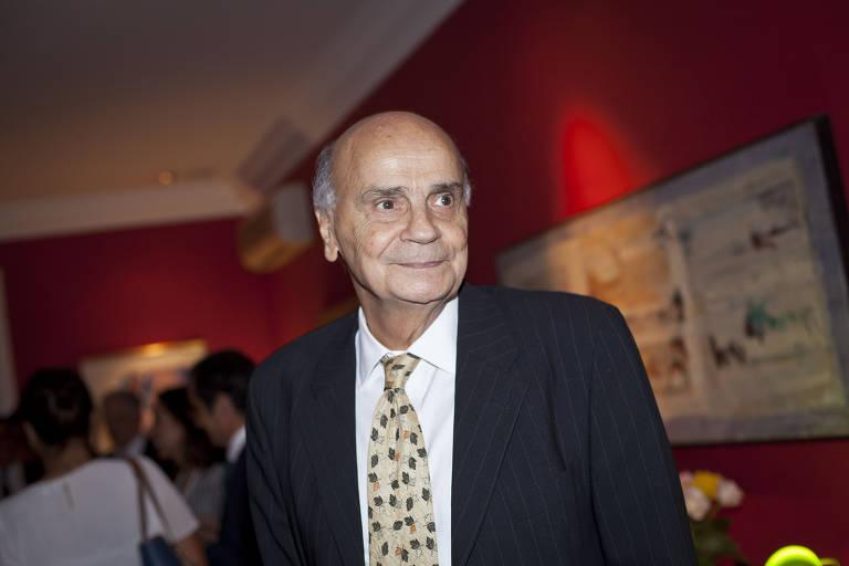 Drauzio Varella na residencia do cônsul de Portugal para jantar com FHC e chefes das agencias europeias de combate às drogas