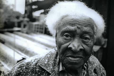 Maria Ellis da Silva não esquece do dia da abolição, em 1988