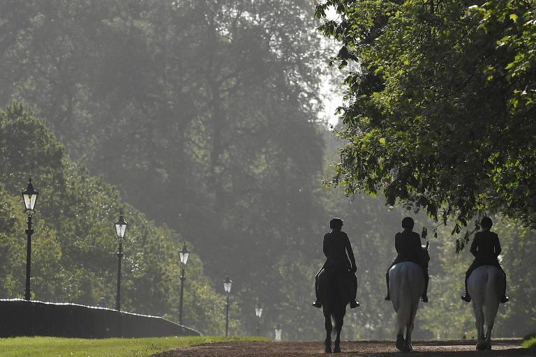 Circuito em Londres inspirado em Harry e Meghan