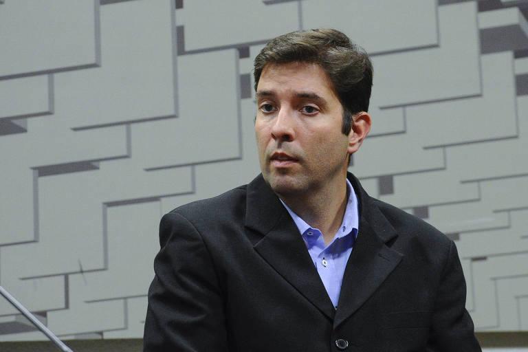 Fernando de Carvalho Lopes, ex-técnico da seleção brasileira de ginástica, depõe na CPI dos Maus Tratos no Senado