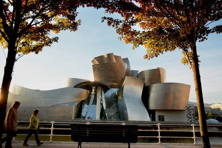 Museu Guggenheim, em Bilbao, na Espanha