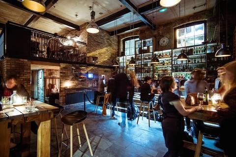 Bar Devil's Advocate, em Edimburgo