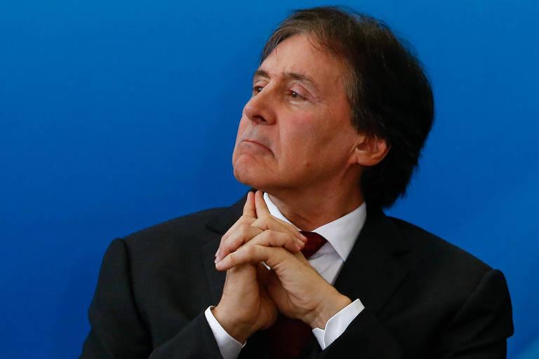 O presidente do Senado, Eunício Oliveira (MDB-CE)