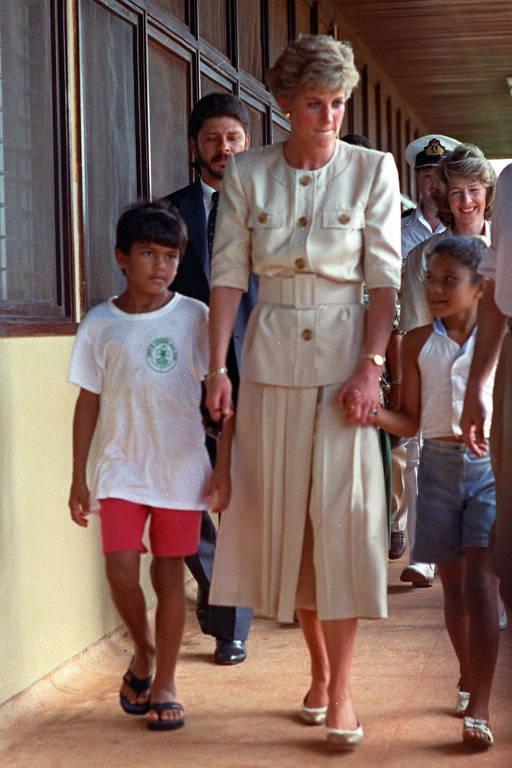 A elegância da Princesa Diana