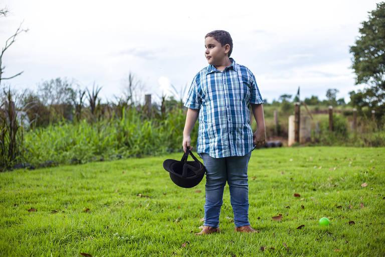 Cego, 10 anos e paratleta