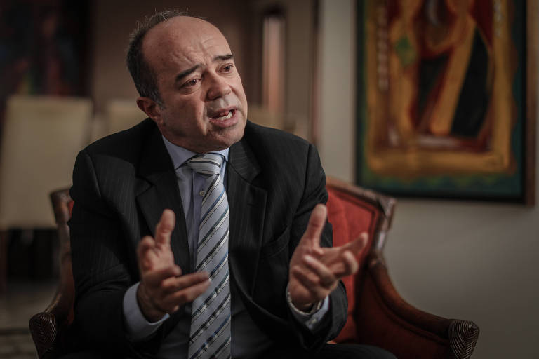 Roberto Caldas, ex-presidente da Corte Interamericana de Direitos Humanos, que é acusado de violência física por sua ex-mulher