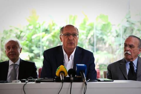 Geraldo Alckmin é o terceiro pré-candidato sabatinado em série da Folha, UOL e SBT