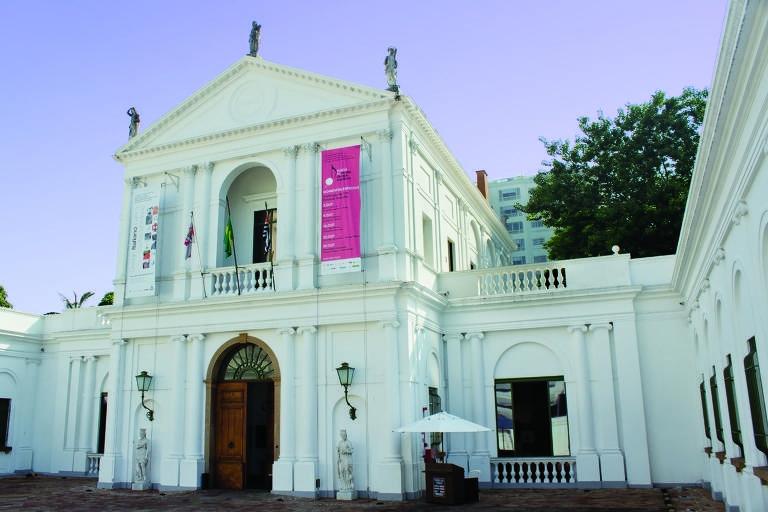 Fachada do Museu da Casa Brasileira