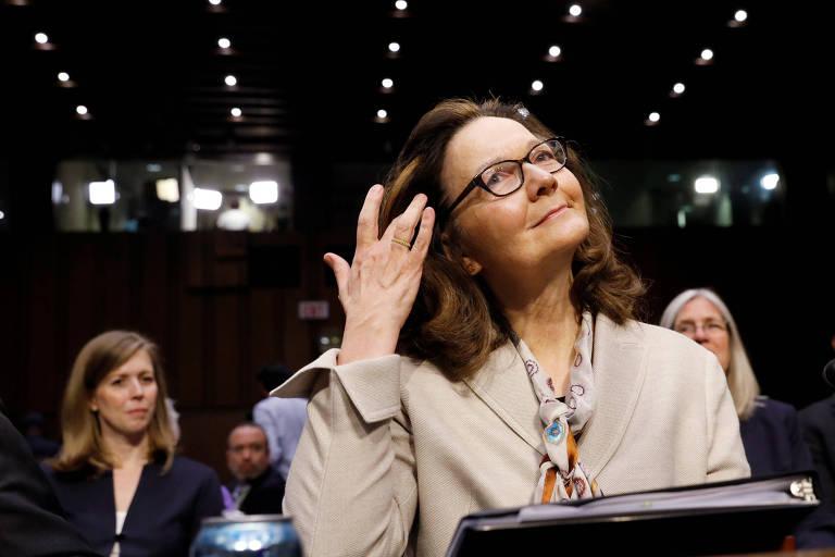 Gina Haspel, indicada para comandar a CIA, antes de audiência em comissão do Senado dos EUA