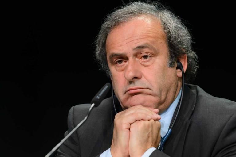 Platini admite arranjo em sorteio para ter França e Brasil na final de 98