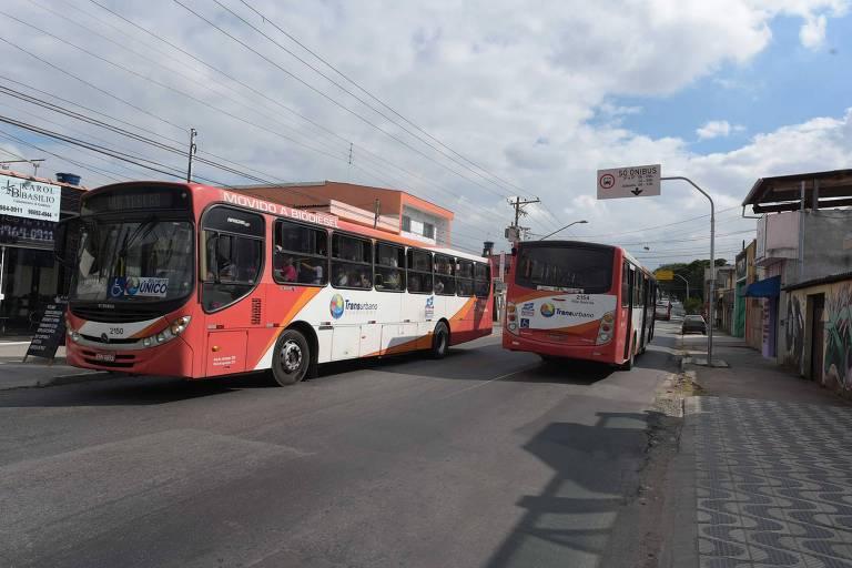 Protesto de motoristas afetou a vida de 100 mil passageiros em Guarulhos nesta sexta (18)