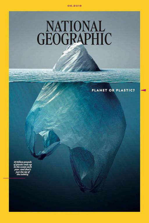 Capa da revista National Geographic