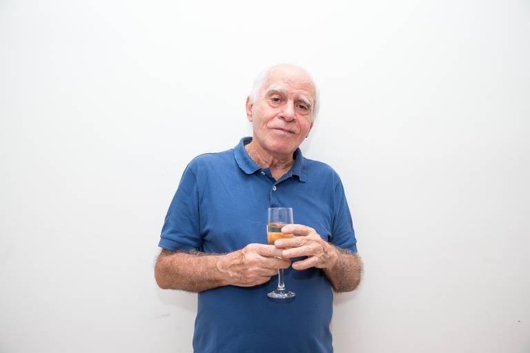 """Ignácio de Loyola Brandao na estreia a peca """"Eu Sou Essa Outra"""", em 2018"""