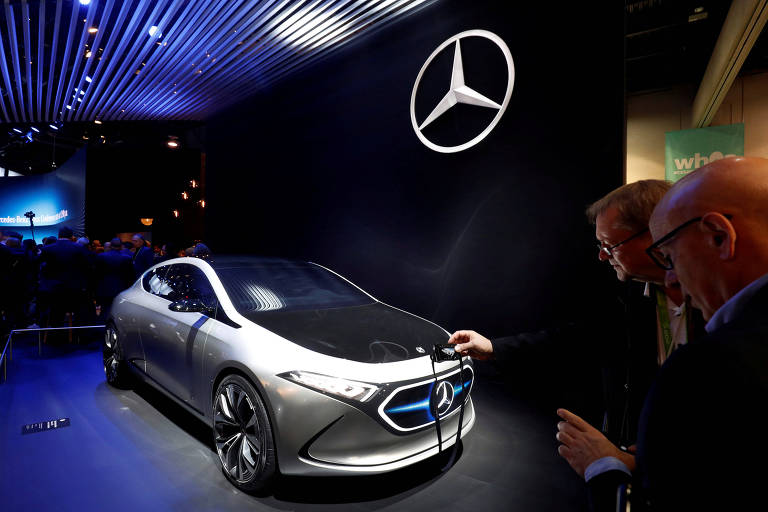 Mercedes-Benz Concept EQA em Las Vegas, Nevada