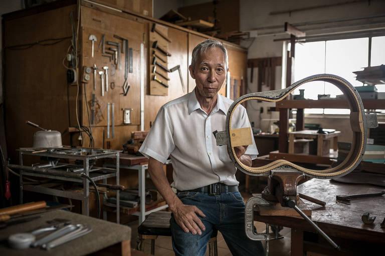 Shigemitsu Sugiyama, o luthier de Chico Buarque, Toquinho e outros nomes da MPB