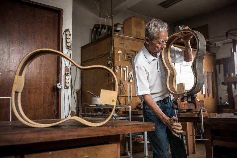 Luthier de violões de Chico Buarque e Toquinho