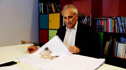 professor Plinio Martins Filho, autor do