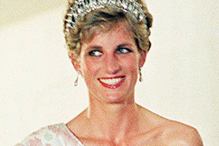 A princesa Diana em Brasília, durante visita ao Brasil