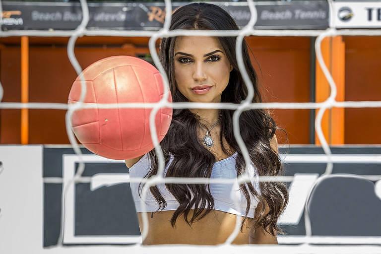 A ex-jogadora de vôlei e ex-BBB Paula Amorim