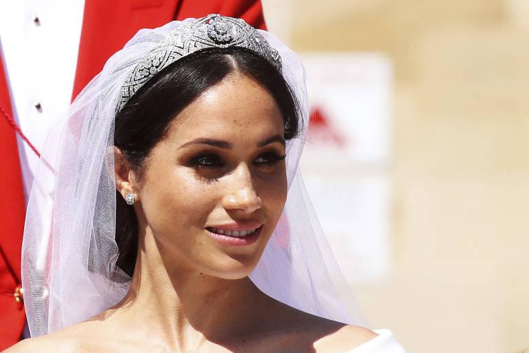 A atriz Meghan Markle se casa com príncipe Harry