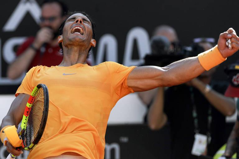 Nadal vence Djokovic e vai à final do Masters 1.000 de Roma
