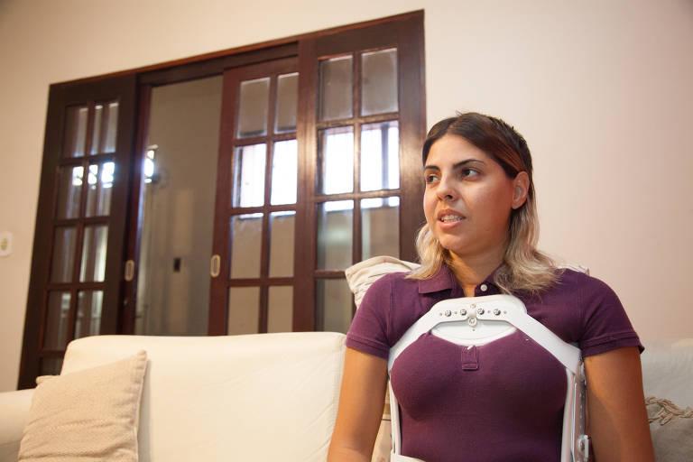 A berçarista Raquel Dalbeto