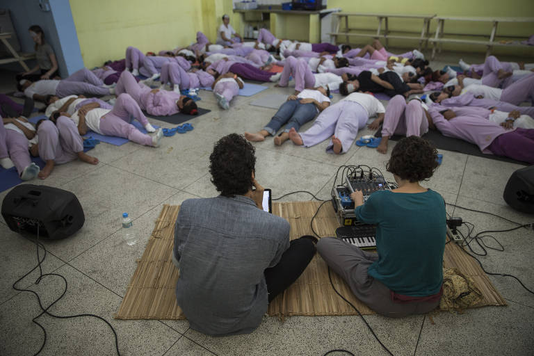 Artistas provocam experiências sonoras em internos da Fundação Casa