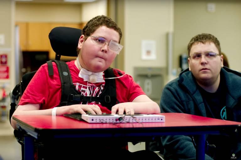 Xobx cria controle adaptado para pessoas com mobilidade reduzida