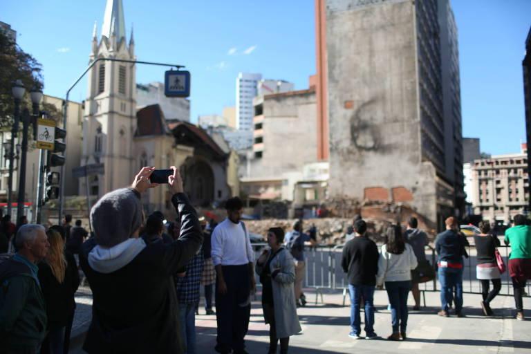 Domingo de Virada Cultural em São Paulo