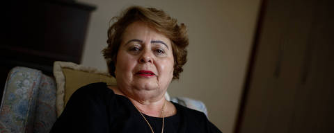 BRASILIA, DF,  BRASIL,  15-05-2018, 12h00: Livia Maria Ledo Pio de Abreu, que foi a primeira candidata mulher à presidência da república, em 89, em sua casa em Brasília . (Foto: Pedro Ladeira/Folhapress, PODER) ***EXCLUSIVO*** ***ESPECIAL***