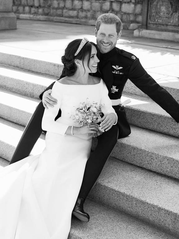 A cerimônia de casamento na capela de São George