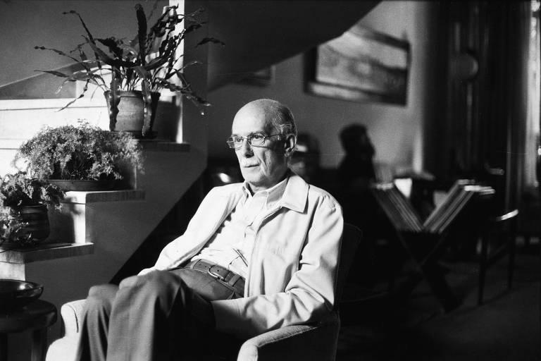 O crítico literário Antonio Candido