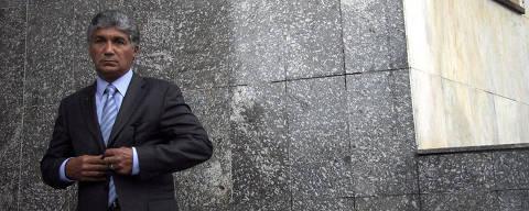 SÃO PAULO, SP, 16-02-2011, PROPINA-PSDB, Paulo Vieira, conhecido como Paulo Preto, presta depoimento no Forum Regional da Lapa sobre envolvimento do Vice Pres. do PSDB Eduardo Jorge no caso de propina nas obras do Governo Paulista. ( PODER). FOTO: L.C.Leite/FOLHAPRESS