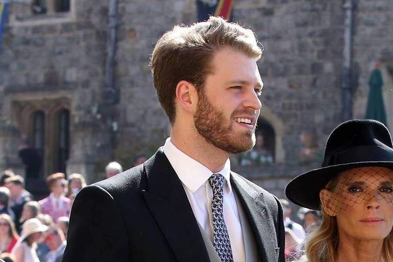 Louis Spencer tem 24 anos e é o herdeiro do título de Visconde de Althorp