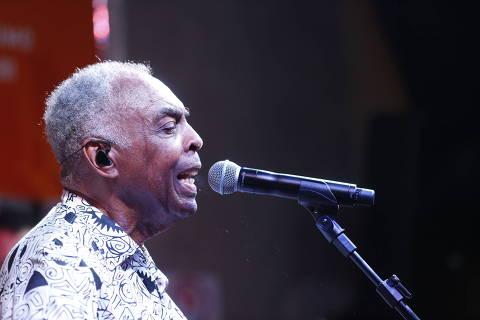SAO PAULO, SP , BRASIL- 25-01-2017 : apresentação do músico Gilberto Gil no Bar Brahma (pelo aniversário da cidade, mas fora da programação oficial) . ( Foto: Joel Silva/Folhapress ) ***ILUTSRADA*** ( ***EXCLUSIVO FOLHA***)