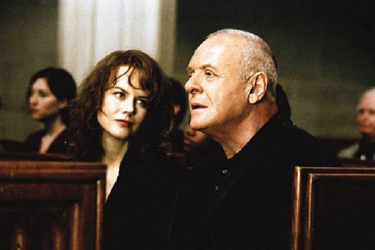 Cena de Revelações com Anthony Hopkins e Nicole Kidman