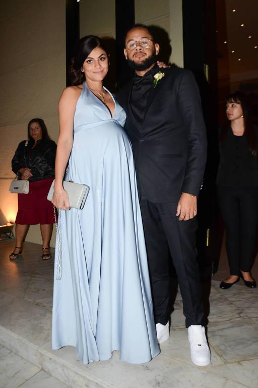 Famosos no casamento de Lexa e MC Guimê