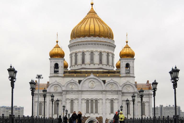 Igrejas douradas na Rússia