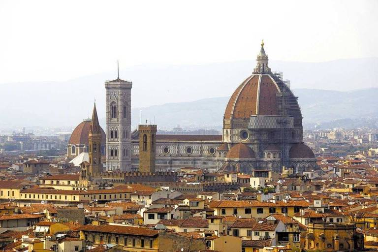 Série faz bela reconstituição de Florença, na Itália, e mostra paixão dos Medici pelas artes
