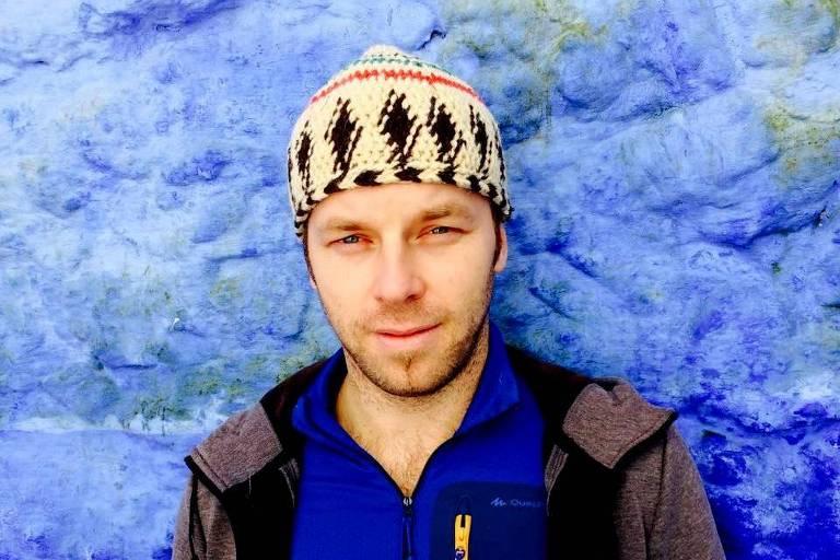 Retrato do polonês Adam Lipinski, 38, que mora em São Paulo desde 2013