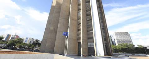 Edifício-sede da Caixa Econômica Federal, em Brasília.  Credito:Valter Campanato/ Agência Brasil DIREITOS RESERVADOS. NÃO PUBLICAR SEM AUTORIZAÇÃO DO DETENTOR DOS DIREITOS AUTORAIS E DE IMAGEM