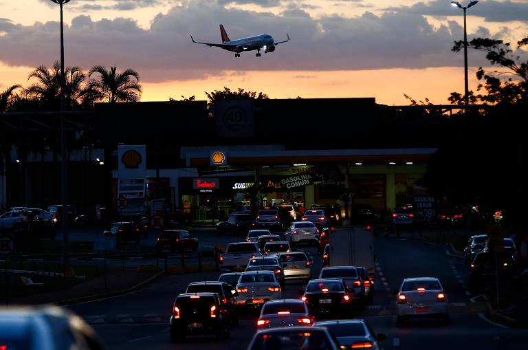 Movimentação no Aeroporto de Brasília