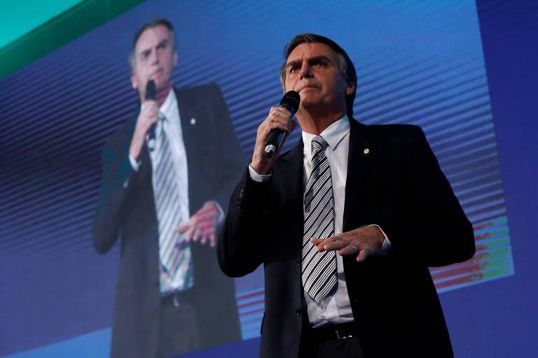 A ideia de que Jair Bolsonaro (PSL) possa ser o próximo presidente é discutida em Bruxelas, e como um cenário pouco auspicioso.