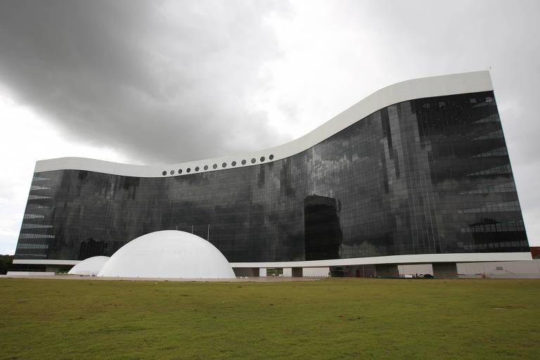 Prédio do TSE (Tribunal Superior Eleitoral), em Brasília