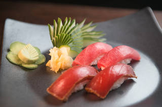 Comida - maturacao e diferentes curas de peixe