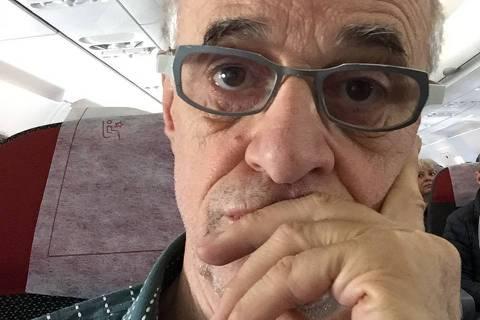 Ator Marcos Caruso reclamou do atendimento prestado por companhia aérea